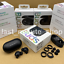 Samsung-Galaxy-brotes-SM-R170-verdadero-Auriculares-audifonos-inalambricos-con-Bluetooth-Negros miniatura 1