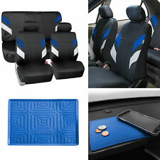 Neoprene Car Seat Covers For Auto Car Blue With Anti Slip Dash Mat Fits Jeep Cherokee