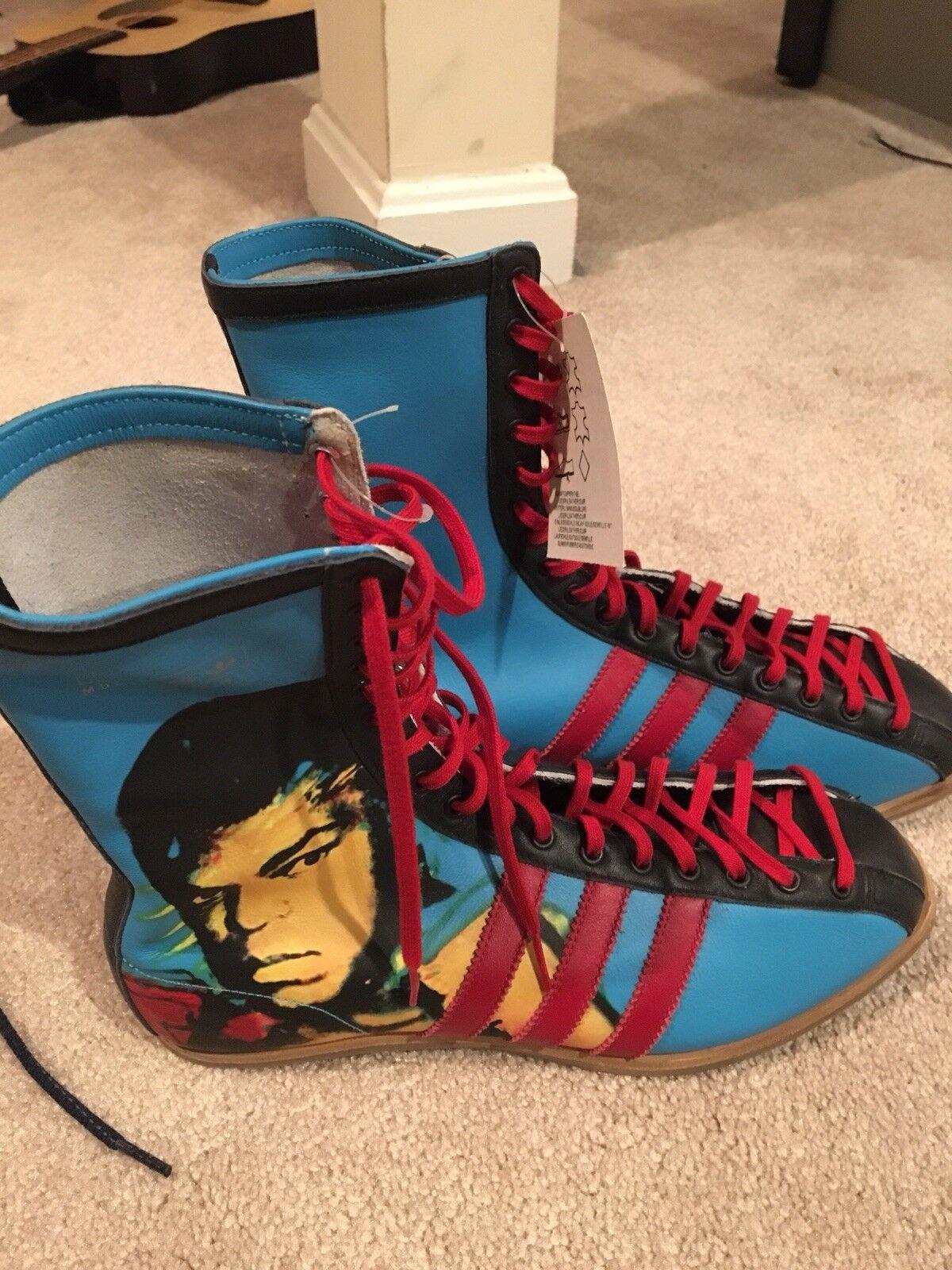 Adidas Muhammad Ali Warhol Boots, Men's Size 8, Ultra Rare   NWT
