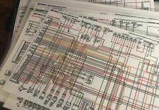 1964 1965 1966 1967 Dodge A100 Truck Color Laminated Wiring Diagram 11 X 17 For Sale Online Ebay