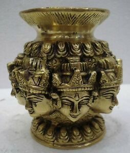 HINDU Lord / God Puja Worship Water BOWL - Vastu Fengshui Decorative Design