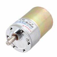 24v Dc 200rpm 6mm Shaft Magnetic Electric Gear Box Motor Replacement, New, Free on sale