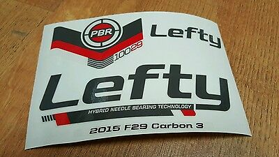 F29 Lefty PBR 100 Fork Sticker Decal Set for Cannondale SCALPEL 29