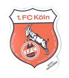 Details Zu 1 Fc Köln Aufkleber Sticker Logo Bundesliga Fussball 318