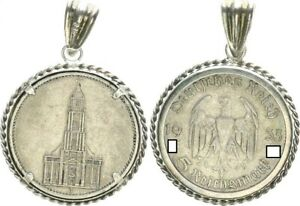 Germany/Empire Pendant With 5 M Church Without Date 1935 Good Condition