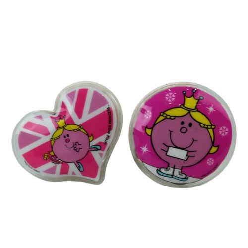 HAND Warmers Little Miss Princess Design Riutilizzabile Freddo Invernale Doppio Rosa