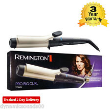 Remington CI5338 Professional Jumbo Hair Curling Wand Big 38mm Tong 140C -210C