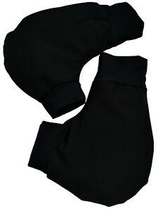Ruderhandschuhe-schwarz-mit-Aufdruck-Rudern-Rowing-Poggies