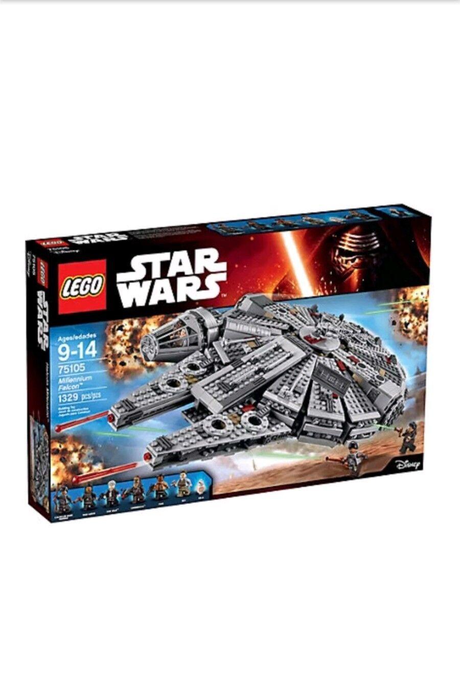 Lego Star Wars Millennium Falcon (75105), nuevo Sellado En Caja Gratis P&P