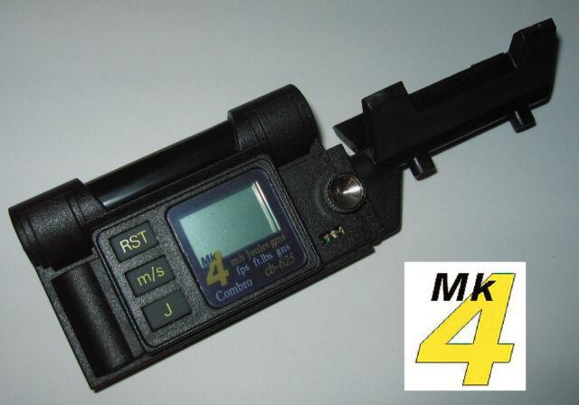 Combro cb-625 MK4 Chronograph Mesure MPS/FPS Velocity