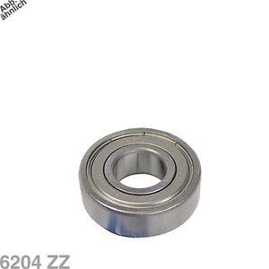 Stock-Roulement-a-billes-Machine-a-laver-6204ZZ-6204-ZZ-Staubdich