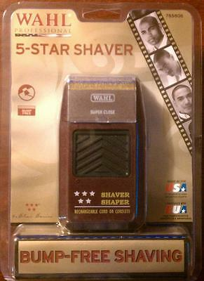 Wahl 5 Five Star Shaver Anti Allergic Bump Free  8061 Cord or Cordless