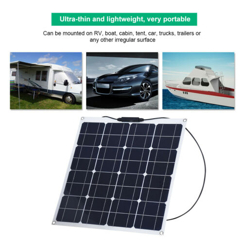 Multi-functional Mono Solar Panel Battery Charger For Caravan Boat Car RV Home