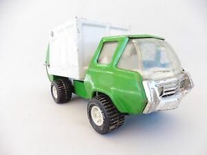 Tonka polystil camion benne vert en tole vintage jouet ref 52750 ebay - Camion benne tonka ...