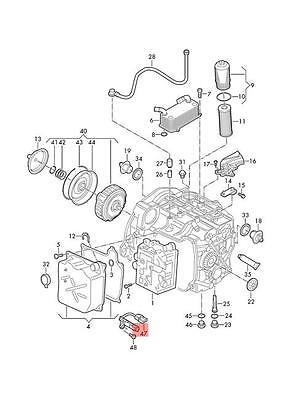 Genuine Speed Sensor With Temperature Sensor AUDI VW Q3 0BH927321A