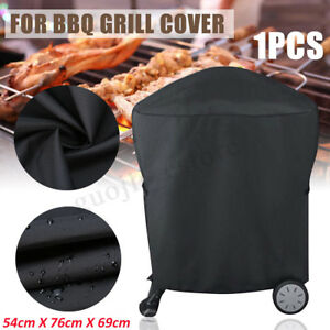 BBQ-Rolling-Cart-Full-Length-Grill-Cover-For-Weber-Q-2000-1000-Series-7113