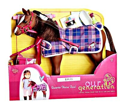 """Our Generation Quarter Horse Foal For 18/"""" Dolls"""