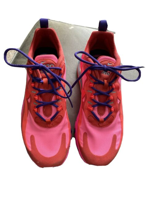 Size 8 Nike Air Max 270 React Mystic Red Pink Blast For Sale Online Ebay