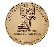 USA MEDAL MOTHER TERESA OF CALCUTTA,MISSIONARIES OF CHARITY,SERVICE TO THE POORE