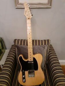 revelation rte54 telecaster style left hand electric guitar ebay. Black Bedroom Furniture Sets. Home Design Ideas