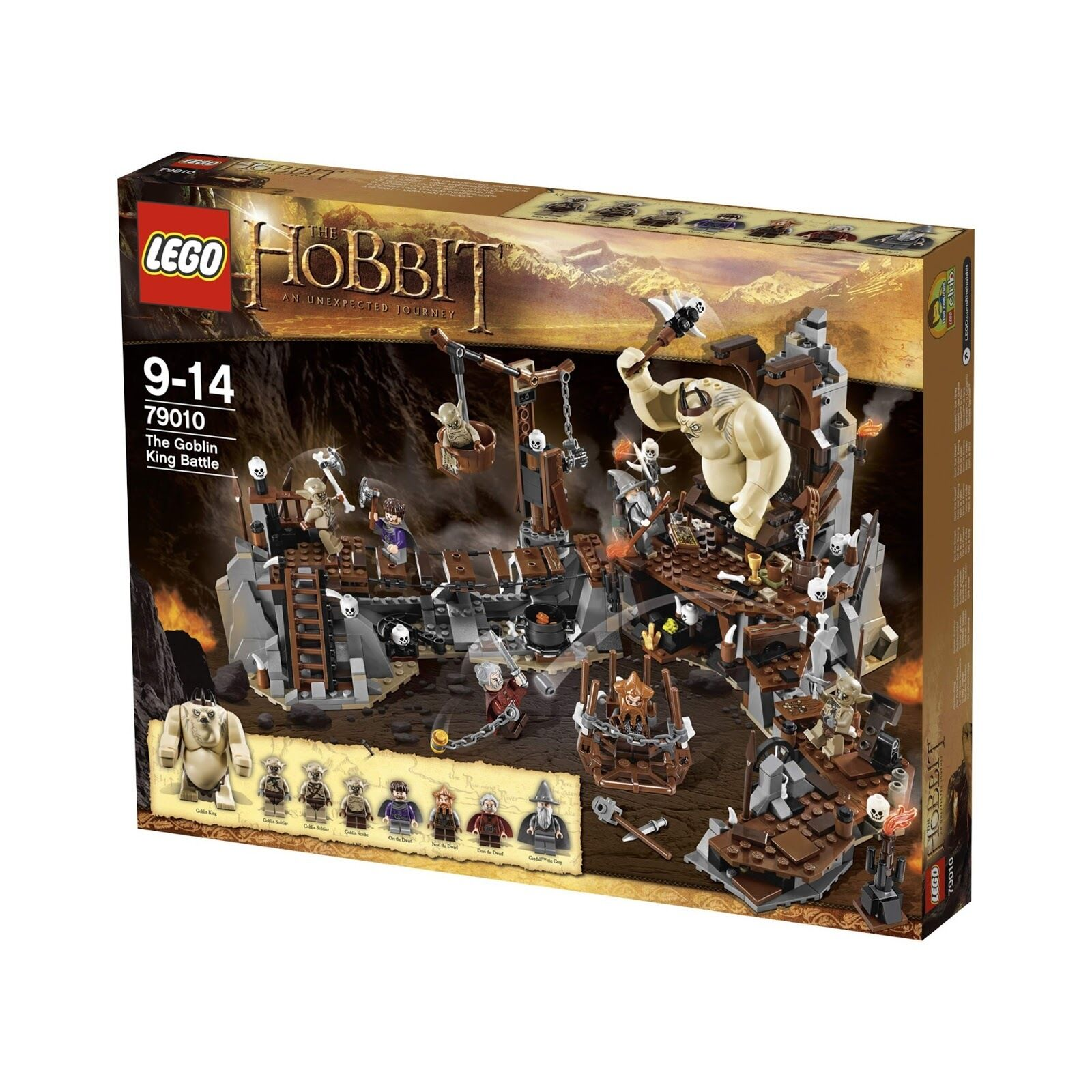 Lego 79010 The Goblin King Battle - The Hobbit NEW in box