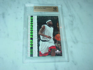 2003-04-Upper-Deck-UD-Top-Prospects-55-LeBron-James-RC-Rookie-BGS-10