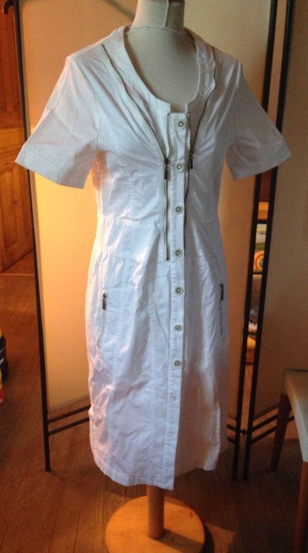 Robe whitehe Kristina Popovitch T.40 Fr Ou T.44 It. Neuve