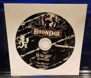 Boondox-The-Harvest-CD-Sampler-twiztid-insane-clown-posse-axe-murder-boyz-icp