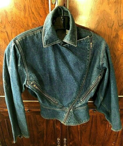 Vintage Azzedine Alaia Denim Jacket - image 1