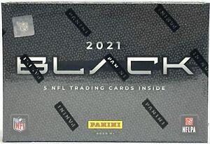 2021 Panini Black NFL Football Factory Sealed Hobby Box