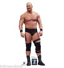 STONE COLD STEVE AUSTIN WWE PRO WRESTLER LIFESIZE STANDUP STANDEE CUTOUT POSTER