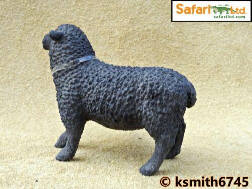 NEW * Safari mouton noir solide Jouet en plastique Ferme Pet Animal FIGURE