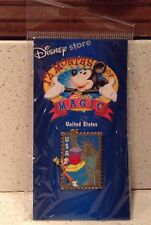 United States Goofy Stamp Pin 12 Months of Magic Disney Store NEW Statue Liberty