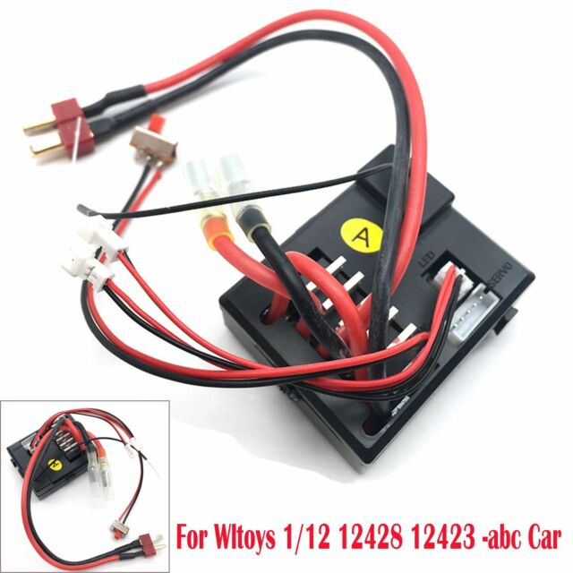 3 IN 1 RC Car Spare Parts Receiver ESC 0056 For Wltoys 12428/12423 1/12 Toys VS