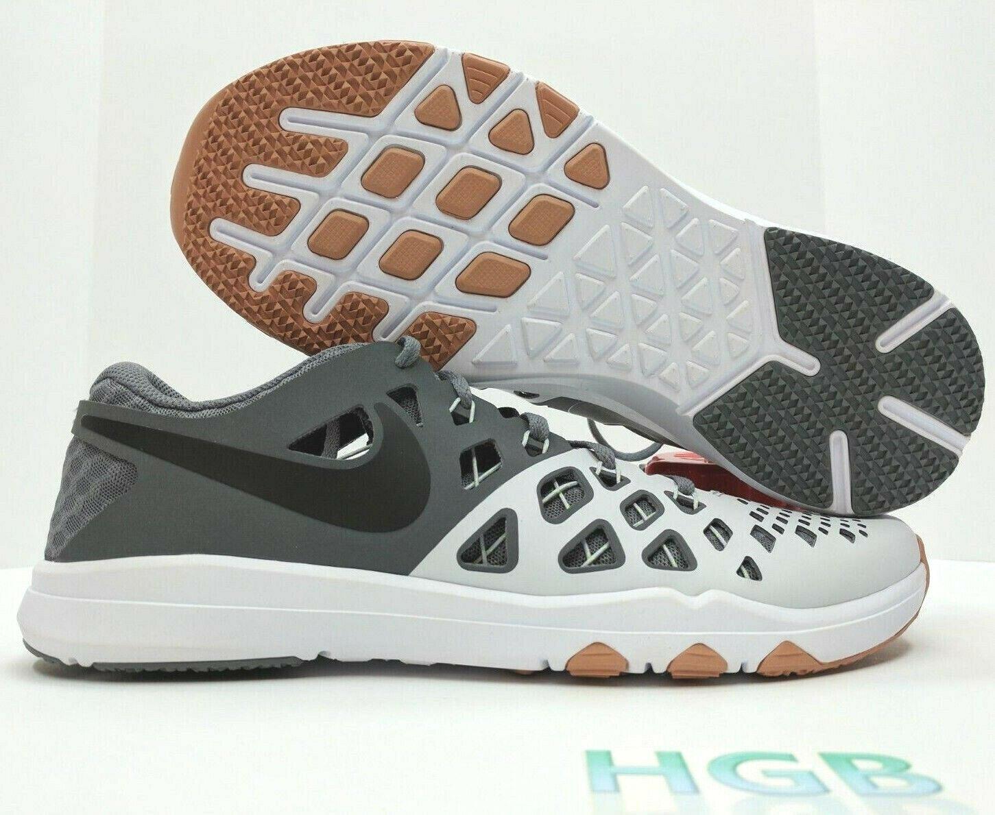 Nike Schleppe Speed 4 Herren Pure Platinum Grau Weiß Turnschuhe 843937-005  | Qualität Produkte