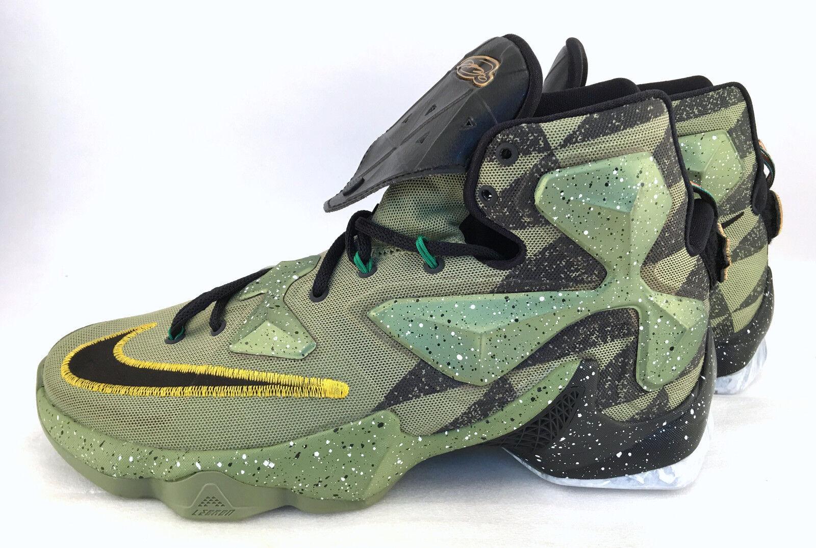 Nike LeBron XIII 13 como All Star Game cocodrilo Negro 835659 835659 Negro 309 Elite DS SZ 10,5 estacional de liquidación 50d8a7