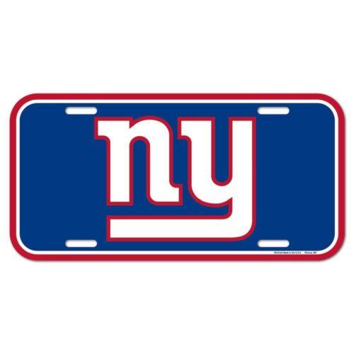 NFL Football NEW YORK NY GIANTS Plate Schild Kennzeichen USA Nummernschild