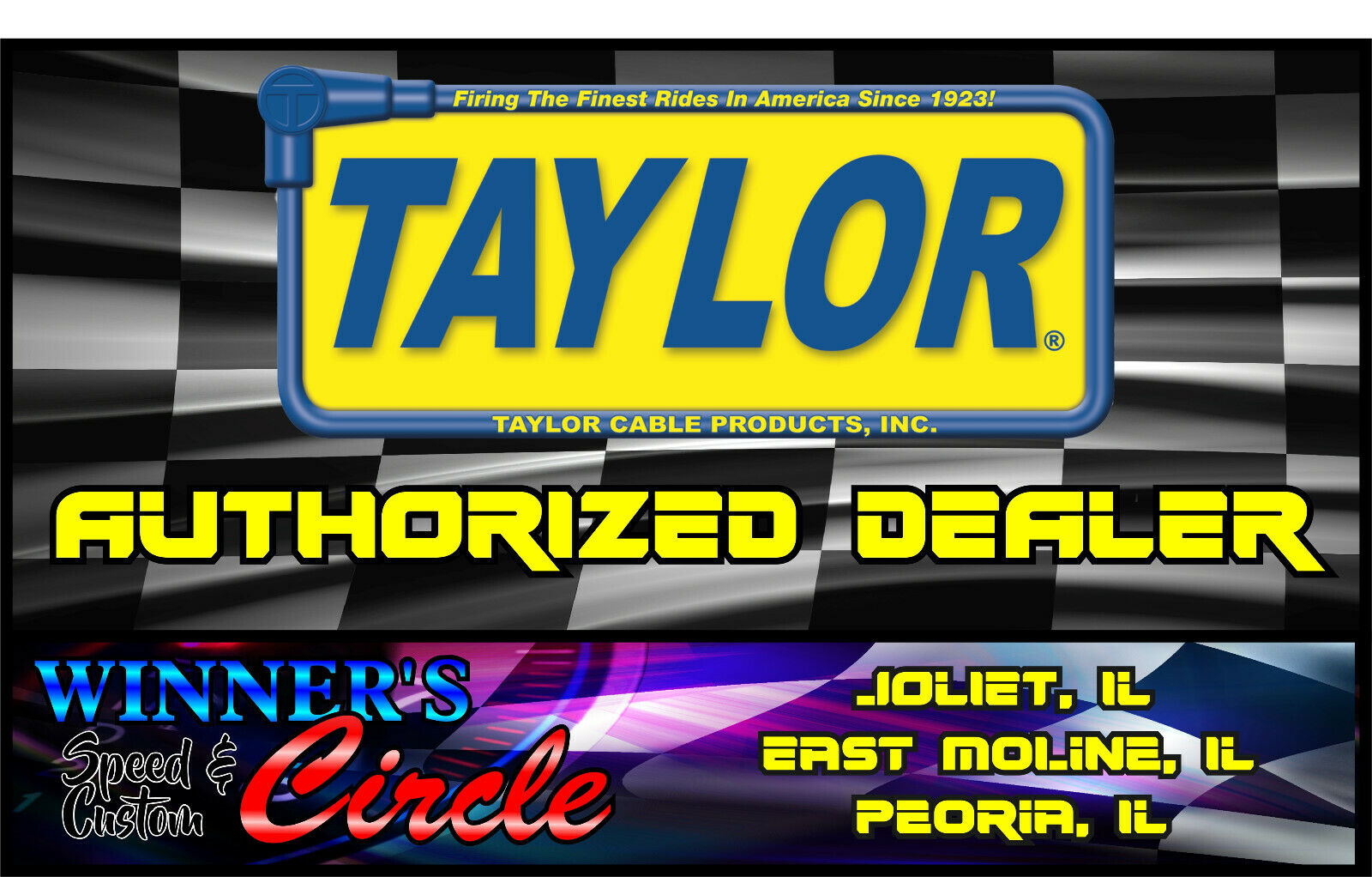 Taylor Cable 73251 Spiro-Pro Red Spark Plug Wire Set