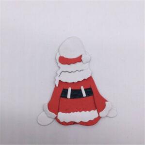 Stanzschablone-Weihnachtsmann-Familie-Weihnachten-Hochzeit-Oster-Karte-Album-DIY