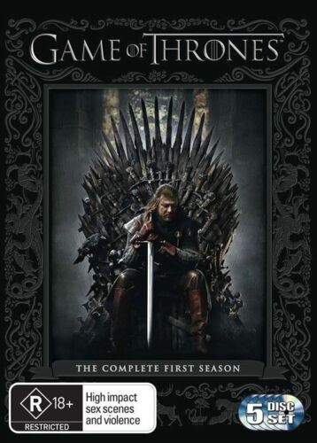 1 of 1 - Game Of Thrones : Season 1 (DVD, 2012, 5-Disc Set)