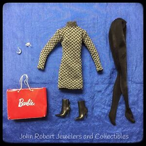 BARBIE LOOK CITY SHOPPER OUTFIT AND ACCESSORIES NEW LAST ONE!