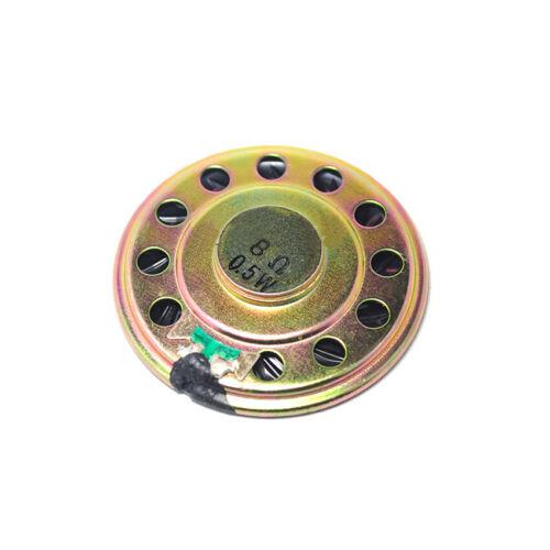 28mm 8 Ohm 0.5W Iron Shell Inner Magnetic Ultra-thin Mylar Small Horn Speaker