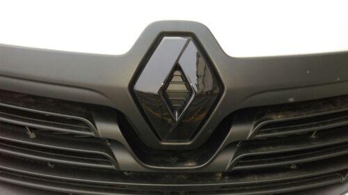 Effet Fibre de Carbone Grille Calandre avant Badge Housse Renault Trafic 3 2014