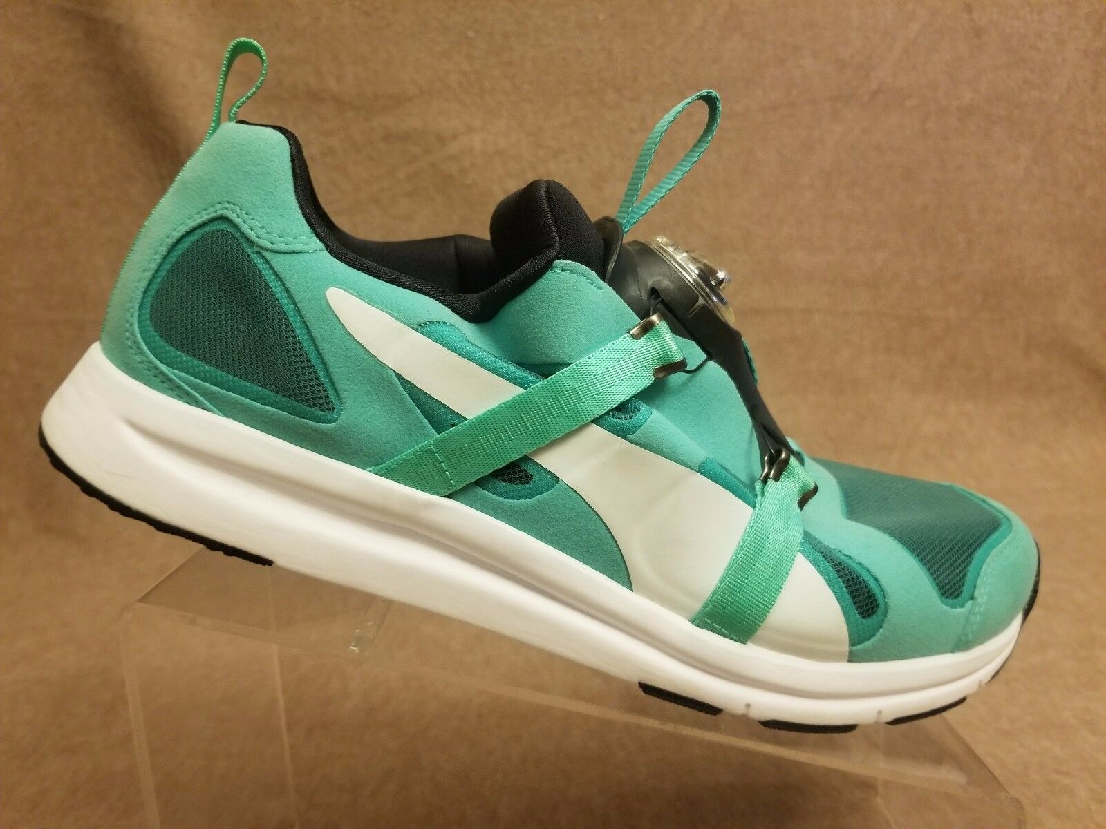 New Puma Future Disc HST Men Electric Green Sport Athletic Running Shoes Size 11