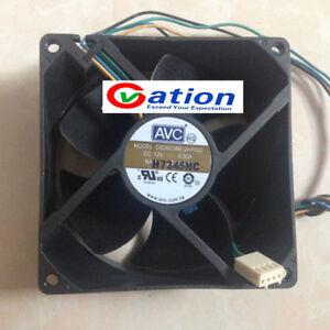For-Micron-HP-92mm-x-38mm-PWM-AVC-Case-Fan-Model-DS09238B12HP020