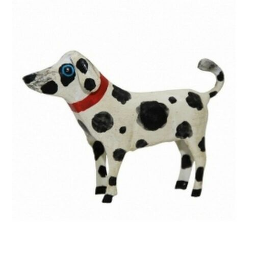 Kleiner Dalmatiner aus Metall süße Deko-Figur 10x3x7 cm