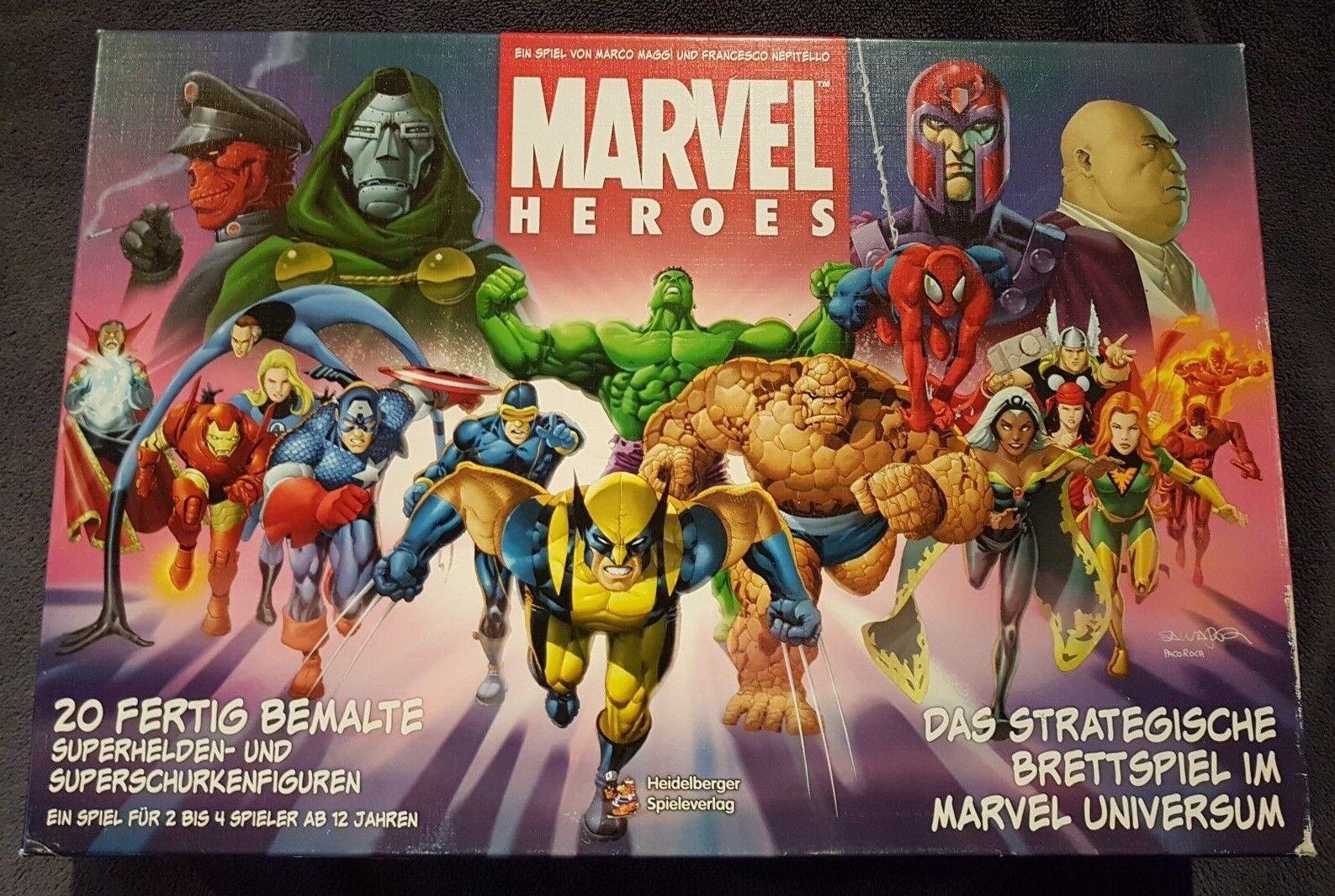Marvel Marvel Marvel Heroes vom Heidelberger Spieleverlag b910a4