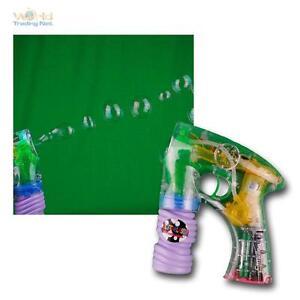 Elektrische Seifenblasenpi<wbr/>stole mit LED Licht Seifenblasen Pistole nachfüllbar