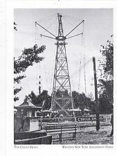 "*Postcard-""CIrcle Swing"" @ Coloron Park  -*NY Amusement Parks (#107)"