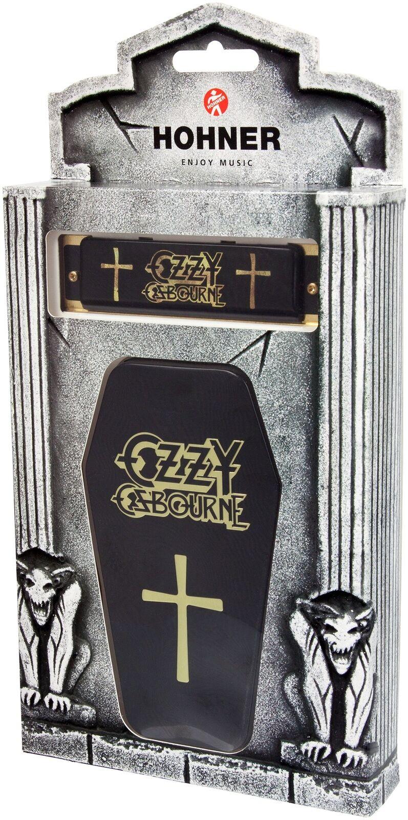 Hohner Ozzy Osbourne Signature Harp - 20 Stimmzungen